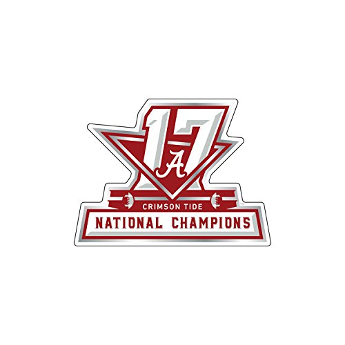 Alabama Crimson Tide Decal Durable Decal 2017 National Champions 3