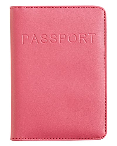 Smooth Trip RFID Blocking Passport Wallet (Pink) - Talus Wallet