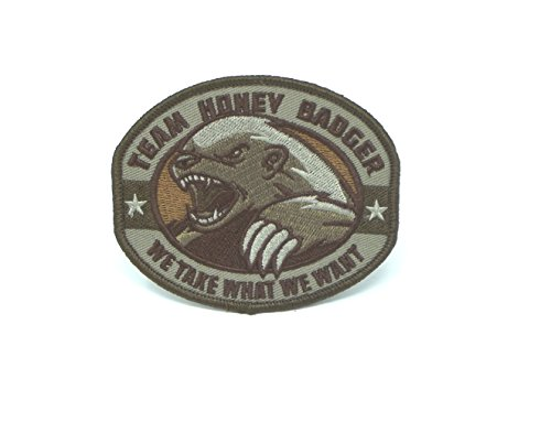 Extreme Sports Appliques (Honey Badger Morale Patch (MULTICAM))