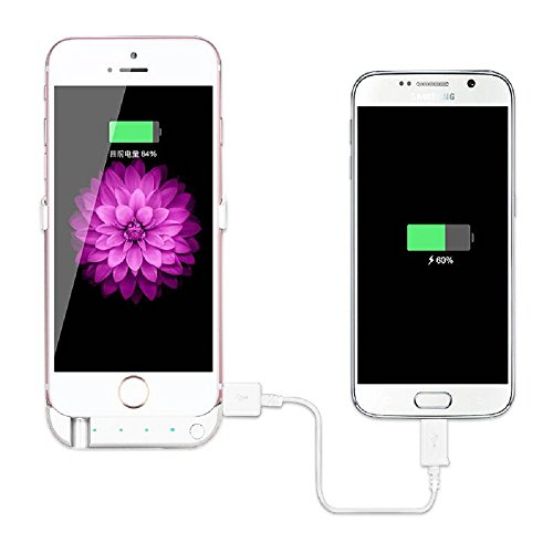 PowerLocus iPhone 7 Plus Battery Case Pack – External Battery Back Up Power Bank, Slim Rechargeable Portable Fast Charger with Stand Portable Charging Case, High Capacity 10000mAh Protective Cover by PowerLocus (Image #3)