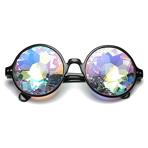 Psychedelic Sunglasses Mosaic Glasses Night Performance Costumes Party Balls Cool (Costumes For Sale South Africa)