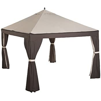 Garden Winds Replacement Canopy for Garden Treasures Gazebo with RipLock Technology  sc 1 st  Amazon.com & Amazon.com : Garden Winds Replacement Canopy for Garden Treasures ...