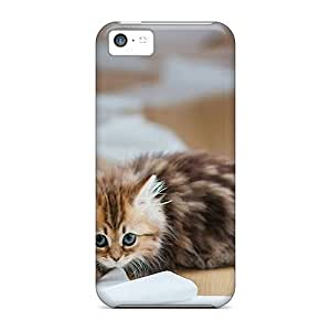linJUN FENGAnti-scratch And Shatterproof Kitten And A Lot Of Paper Phone Case For iphone 6 plus 5.5 inch/ High Quality Tpu Case