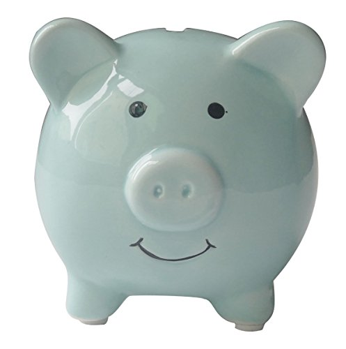 Kids Piggy Banks Small Adorable Ceramic Coin Money Piggy