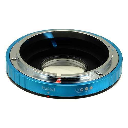 Fotodiox Pro Lens Mount Adapter - Canon FD & FL 35mm SLR lens to Nikon F Mount SLR Camera Body, with Built-In Aperture Control Dial