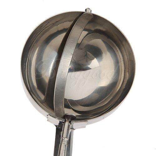 Cuchara de acero inoxidable para helado Hilai 5 cm