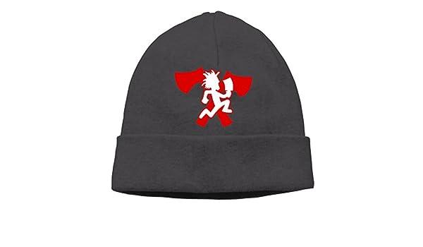 883252855b1 XiaoLiXun Hatchetman Icp Logo Winter Knit Cap Woolen Hat Cap For Unisex  Black  Amazon.ca  Clothing   Accessories