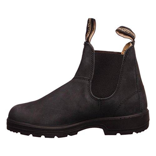 Blundstone 587 - Klassisk, Unisex-voksen Kort Skaft Støvler Nero