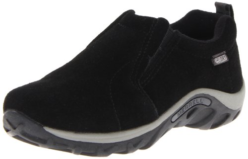 Merrell Jungle Moc Frosty Waterproof Slip-On Shoe ,Black,3 M US Little (3 Moc)