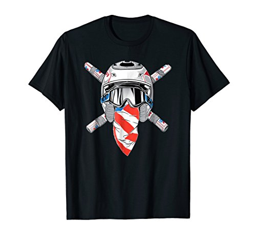 Funny Send It T Shirt American USA 2 Stroke Motocross Legend