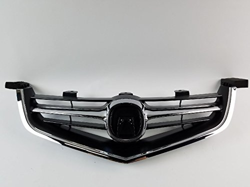 04-05 2004-05 TSX Grille 3 in 1 Whole Piece W/Chrome Molding - Grill Acura