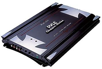 Pyle PLA2220 - Amplificador de audio (2.0, 1200W, 0,04%,
