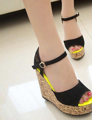 Marron Blanc Talon Shangyi Bureau Flip Sandales Plat Extérieur Robe Femmes Fuchsia Confort Carrière Flops Chaussures Et Noire nRZw6qBxWC