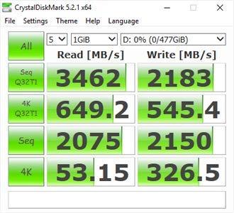 MyDigitalSSD BPX Pro 80mm (2280-S3-M) M.2 PCI Express 3.1 x4 (PCIe Gen3 x4) NVMe SSD (512GB (480GB))