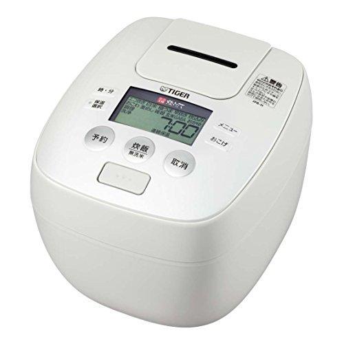 タイガー炊飯器5.5合圧力IHアーバンホワイト炊きたて炊飯ジャーJPB-H102-WUTiger