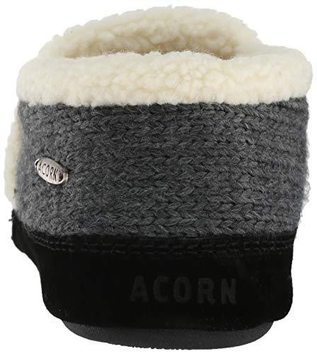 Acorn Mocasines Mujer Grey Nordic Pantuflas aYR0q8