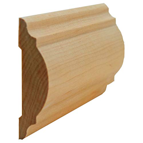 Hard Maple Chair Rail Moulding 11/16