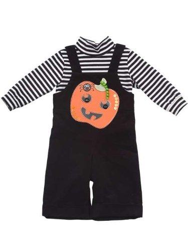 Rare Editions Baby Boys Halloween Pumpkin Corduroy Jumper