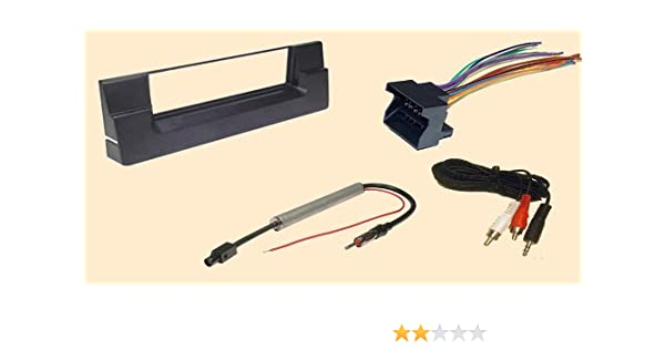 bmw 2002 wiring harness amazon com carxtc complete aftermarket stereo wire and  carxtc complete aftermarket stereo wire