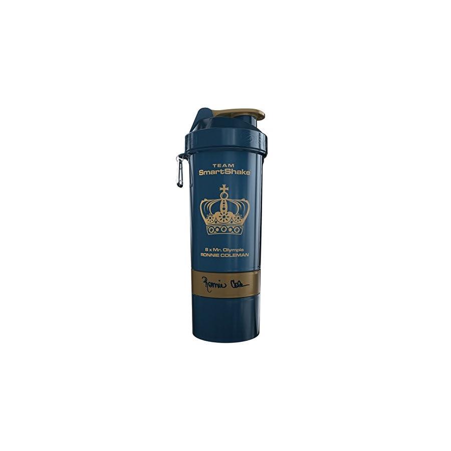smartshake Signature Bottle, 27 oz Shaker Cup, Ronnie Coleman Edition