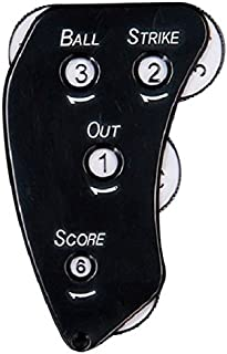 EVERNEW Ebanyu Baseball Softball Arbitre Fournitures en Peluche indicateurs Ekc090