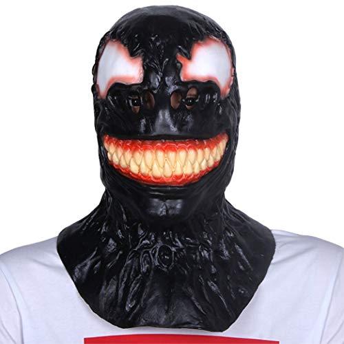 Printable Rabbit Mask (Venom Spider Man Adult Size Full Overhead Latex Costume)