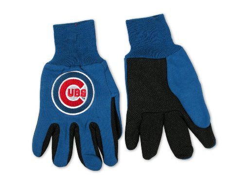 (MLB Chicago Cubs Two-Tone Gloves)