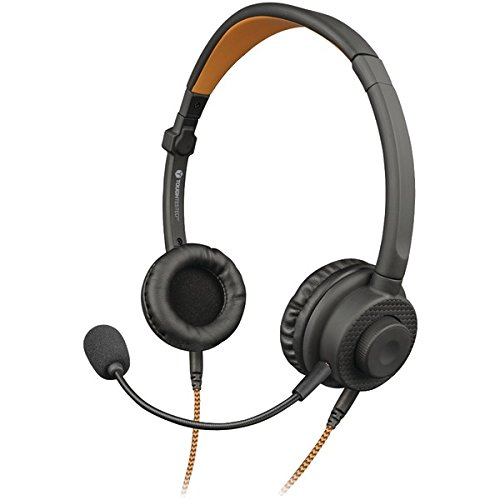 TOUGH TESTED TT-1H3X 3-In-1 Multi-Use Wired Convertible Stereo/Mono Headset with Boom Mic & Connectors For Sale