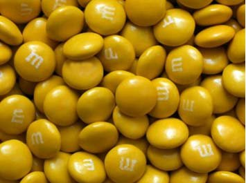 Non Metallic Gold M&M's - 2 lb.