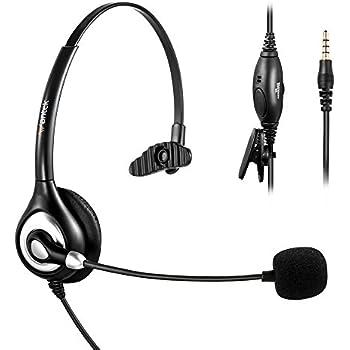 Amazon.com: Jabra UC VOICE 150 Mono Corded Headset for