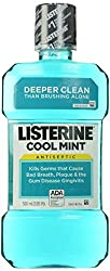 Cool Mint Listerine Antiseptic Mouthwash, 500 Ml