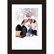 Avercart Photo Frame with Print and 1 Inch Mat / Personalized Picture Frame + Image and 1 Inch Mat for 20x30 cm Picture