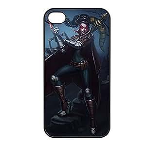 Vayne-001 League of Legends LoL case cover for Apple iPhone 4 / 4S - Plastic Black