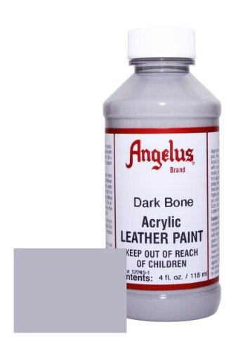 Bone Smooth Footwear - Angelus Acrylic Leather Paint-4oz.-Dark Bone