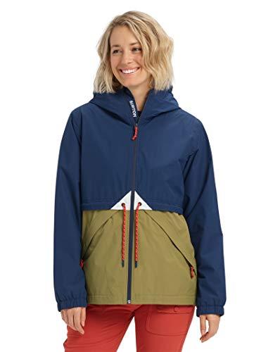 (Burton Women's Women's Narraway Jacket, Dress Blue/Martini Olive, X-Large)