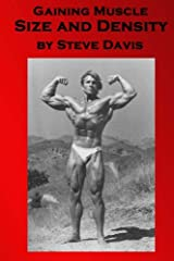 Gaining Muscle Size and Density Paperback