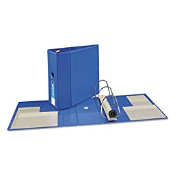 Heavy-Duty Vinyl EZD Reference Binder With Finger Hole, \