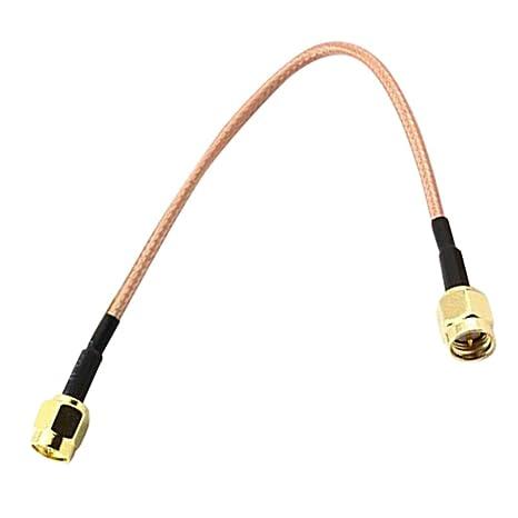 Floridivy 1PC / 2pcs RG316 Cable de Puente SMA Macho a SMA ...