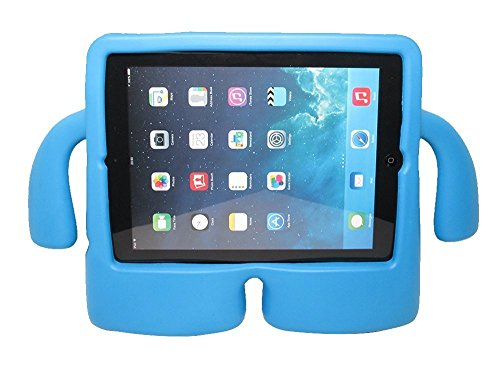 iPad 2 / 3 / 3 Case, Huaup Apple iPad 2 3 4 Shockproof Case Light Weight Kids Case Super Protection Cover Freestanding Case For Kids Children For Apple iPad 2 / 3 / 4 (iPad 2/3/4 Case, Blue)