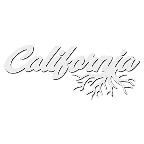 California Roots Home Town City State Pride - White 6