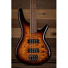 Ibanez SR400EQM Quilted Maple Electric Bass Guitar Dragon Eye Burst