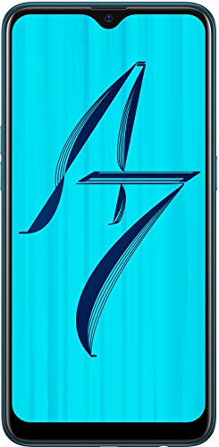 OPPO A7 (Glaze Blue, 4GB RAM, 64GB Storage)