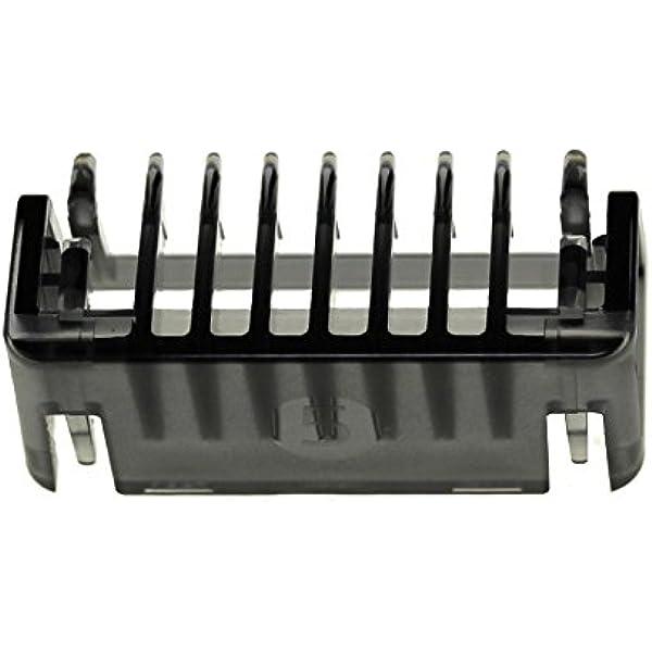 Peine de 5 mm. CP0365 Compatible con Philips QP2520, QP2521, QP2522, QP2530, QP2531, QP6510, QP6520 OneBlade, OneBlade Pro: Amazon.es: Hogar