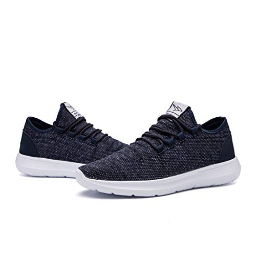 KEEZMZ Men's Running Shoes Fashion Breathable Sneakers Mesh Soft Sole Casual Athletic Lightweight 8