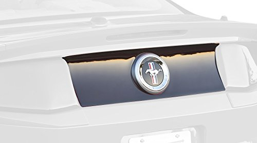GT Styling GT4179 Blackout Panel Smoke 1 pc. Open Center Rear Blackout Panel