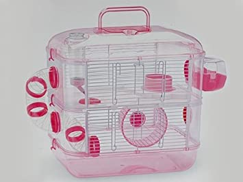 2 esProductos Hamsters Jaula LuxAmazon Para Pisos Mascotas m0vnN8w