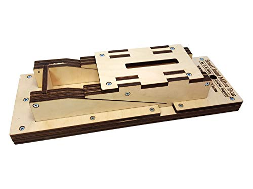 Scarf Joint Miter Box Kit for Cigar Box Guitars - Cut Perfect Scarf Joints by Hand!