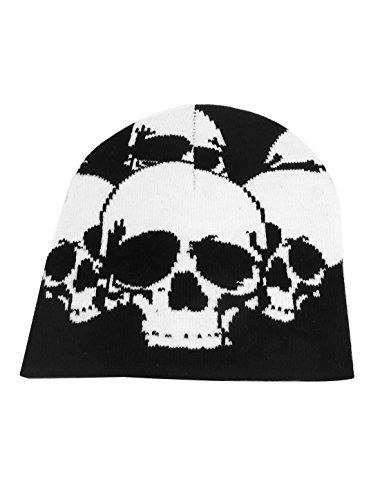 Black Skull Pattern - 5