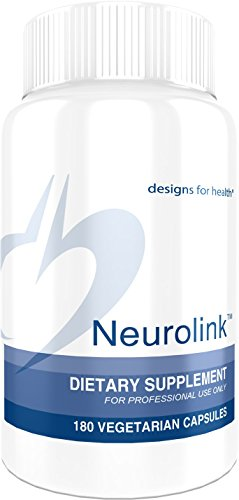 Designs for Health – Neurolink – Mood & Cognitive Support + 750mg GABA + 5-HTP + Taurine, 180 Capsules
