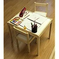Puccı Çocuk Çalışma Masası Ders Çalışma Masası 2 Sandelye 1 Masa Latt